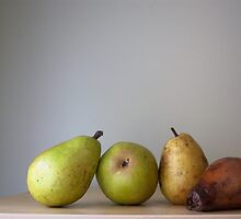 Pears over time by TerraFusca