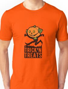 Pumpkin-headed Jack Unisex T-Shirt