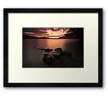 Alone In The Light Framed Print