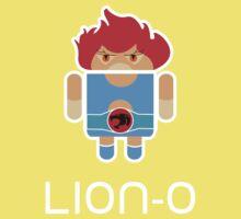 Droidarmy: Thunderdroid Lion-o Kids Tee