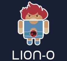 Droidarmy: Thunderdroid Lion-o Baby Tee