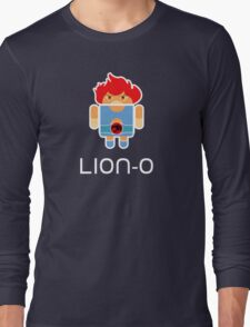 Droidarmy: Thunderdroid Lion-o Long Sleeve T-Shirt