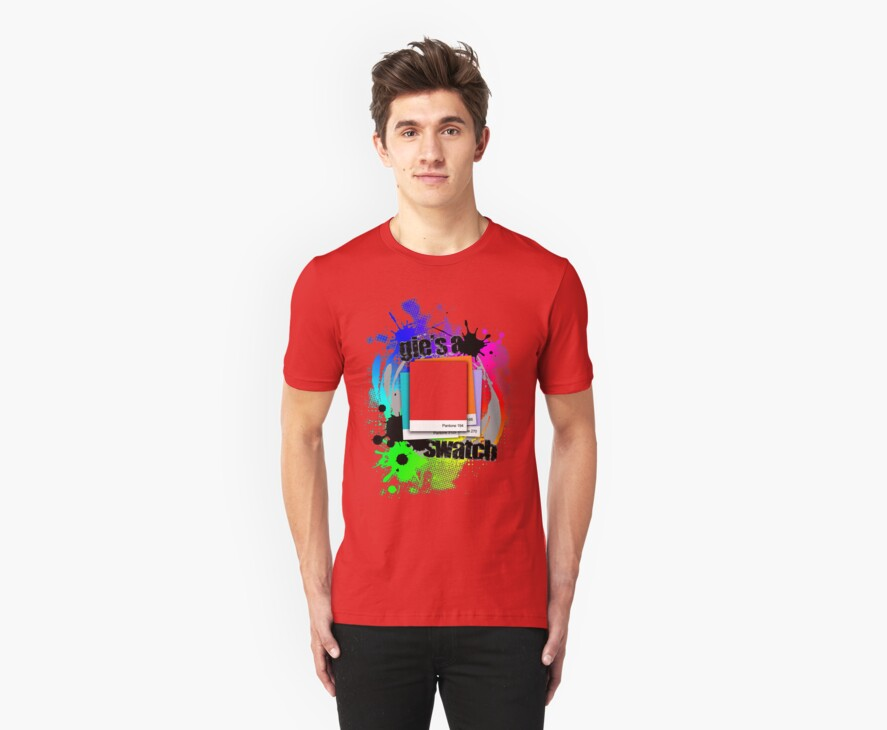 """""""Gie's a Swatch"""" – Red by abinning"""
