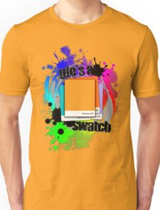 """""""Gie's a Swatch"""" – Grey Unisex T-Shirt"""