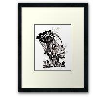 Birdhouse Under the Freeway Framed Print