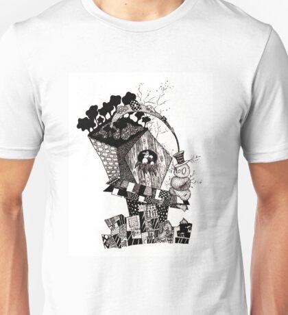 Birdhouse Under the Freeway Unisex T-Shirt