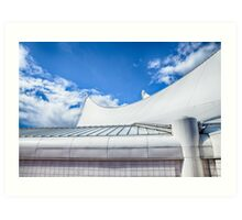 CANADA PLACE SAILS Art Print