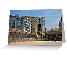 Pedestrian walkway Greeting Card