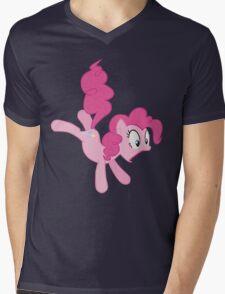 Surprised Pony Mens V-Neck T-Shirt