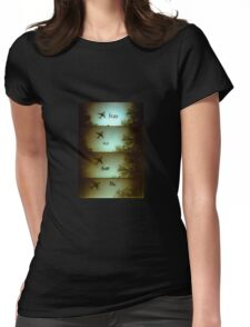 No Fear Lomo Plane Womens Fitted T-Shirt