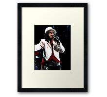 Welcome To My Nightmare Alice Cooper Framed Print