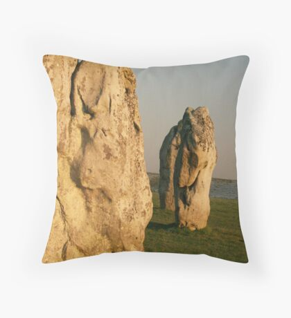 Ancient Avebury Throw Pillow