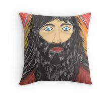 The Blue Eyed Dude Throw Pillow