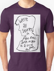 Matt Smith Silhouette Doctor Who Quote T-Shirt