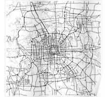 Beijing Map Poster