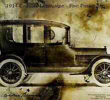 1914 Cadillac Limousine by garts