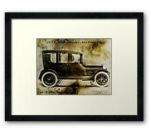 1914 Cadillac Limousine Framed Print