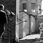 the camera-man and the saint of stone by fabio piretti