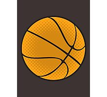 Basketball Vector Photographic Print