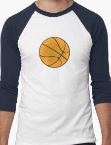 Basketball Vector Men's Baseball ¾ T-Shirt