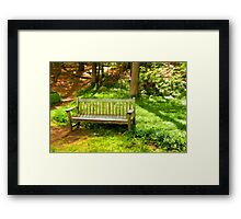 Dedicated to Lydia C. Smith  Framed Print