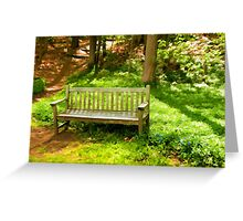 Dedicated to Lydia C. Smith  Greeting Card
