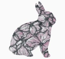 Pink Hydrangea Bunny Kids Clothes