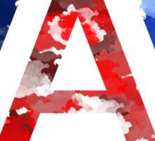 UA watercolor Sticker