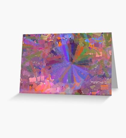 Tracery Greeting Card