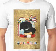 Raven Visits Chichen Itza Unisex T-Shirt