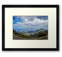 Ocean view in Tenerife Framed Print