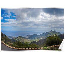 Ocean view in Tenerife Poster
