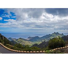 Ocean view in Tenerife Photographic Print