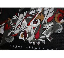 Street Art near Brunswick Street, Melbourne Photographic Print