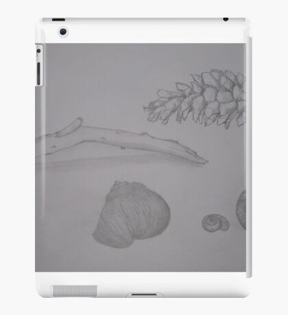 Sketching nature iPad Case/Skin