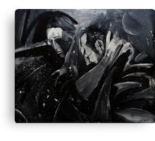 Sadness in space Canvas Print