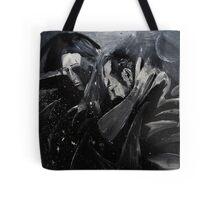Sadness in space Tote Bag