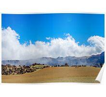 Desert on Teide Poster