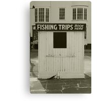 Fishing Trips, come one and all! Canvas Print