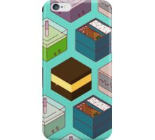 Cubes of goodies iPhone Case/Skin