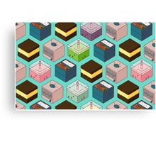 Cubes of goodies Canvas Print