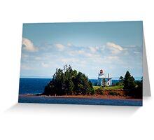 Blockhouse Point Lighthouse, Prince Edward Island Greeting Card