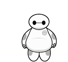 Baymax Photographic Print