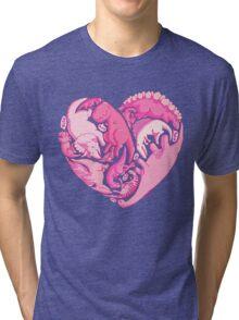 Loveasaurus Tri-blend T-Shirt