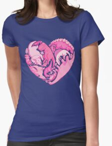 Loveasaurus Womens Fitted T-Shirt