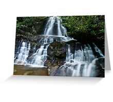 Laurel Falls - GSMNP Greeting Card