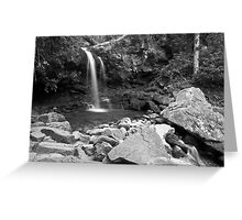 Grotto Falls - GSMNP Greeting Card