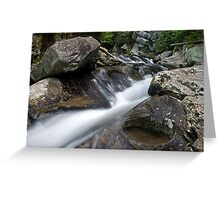 Lynn Camp Prong Cascades II Greeting Card