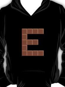 Candy Letter Series - Letter E (uppercase) T-Shirt