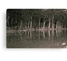 The Frio Reflection BW Canvas Print